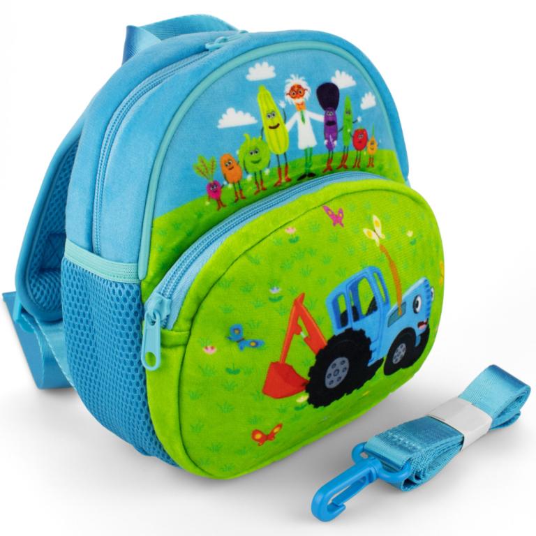 Рюкзак «Синий трактор. Овощи»