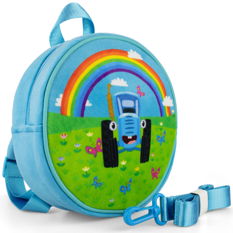Рюкзак «Синий трактор. Радуга»