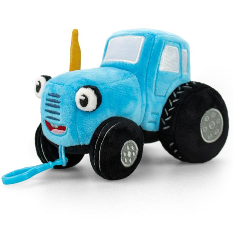 Брелок – мягкая игрушка «Синий Трактор» музыкальный