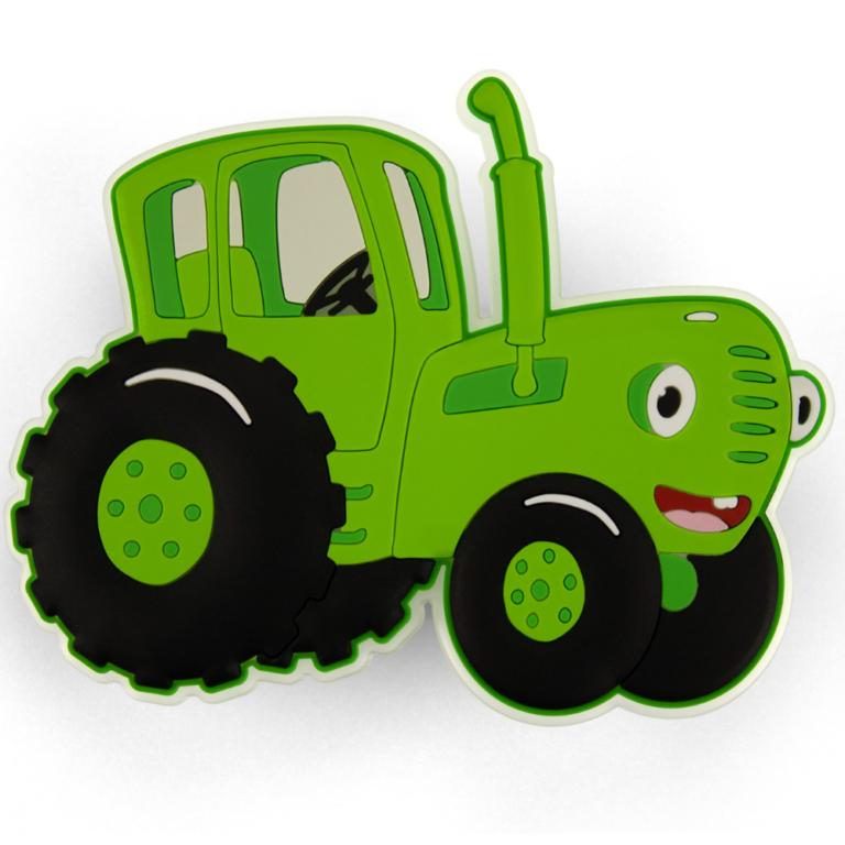 Набор тракторов на присосках «Синий трактор»