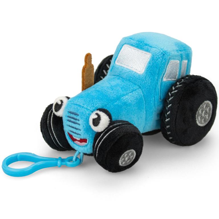 Брелок – мягкая игрушка «Синий Трактор» маленький
